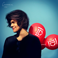 Harry Styles. 1D project by ChocoWay