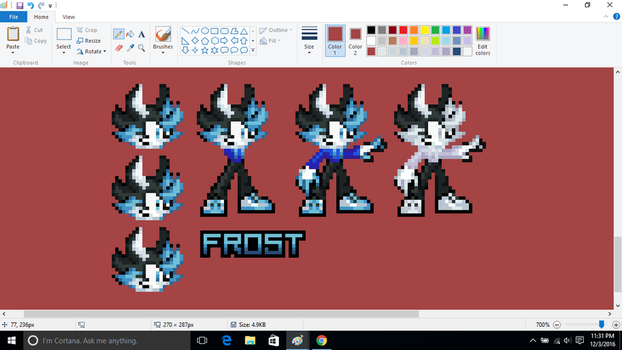 Frost revamped by MCblackfrost