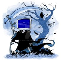 BLUE SCREEN OF DEATH by Kazuo by Austh