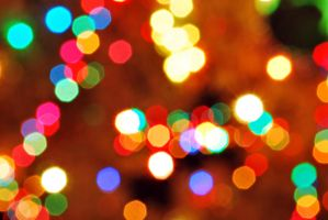 Christmas Bokeh by SublimeBudd