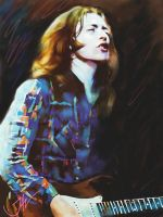 RORY GALLAGHER - CALLING CARDS by JALpix