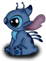 Stitch by wolfishmeow