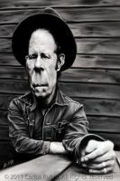 Tom Waits by CarlosRubio