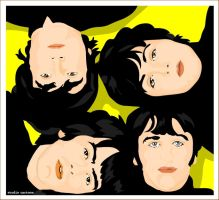 beatles by studiocartoon