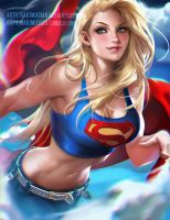 Super Girl Casual by sakimichan