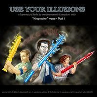 SPNfic: Cover for 'Use Your Illusions' by quantum-witch