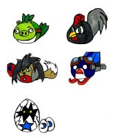 New Angry Birds by Geomax212