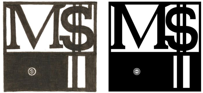 Micro$oft Logo Ink+PS by TheOneWhoObserved
