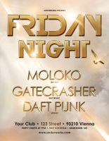 Friday Night - Flyer template by isoarts2