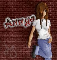 Annya- Graffiti by Akei-Tyrian