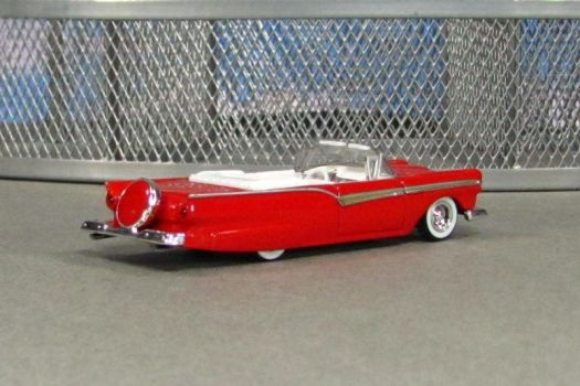 1957 Ford Fairlane 500 Skyliner - red r - HWC by Deanomite17703