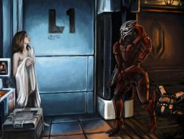 Andromeda - Unexpected Rescue by efleck