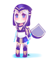 Chibi Ashe by maryfraser
