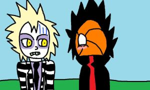 Tobi and Beetlejuice by Char739