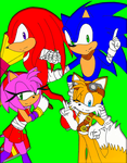 C: Fantastic 4 Sonic Boom by DarkSonic250