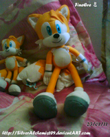 My New Tails plush by SilverAlchemist09
