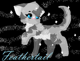 Feathertail of RiverClan by Wickaii