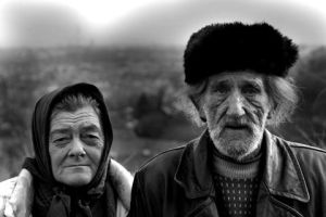 Old couple by Joyl