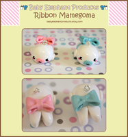 .: Ribbon Mamegoma :. by moofestgirl