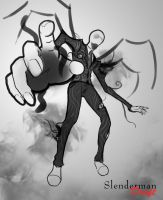 Slenderman [Draft] by KickTyan