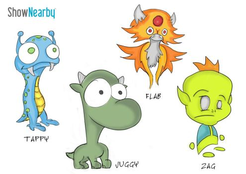 Character Designs by Draco2005