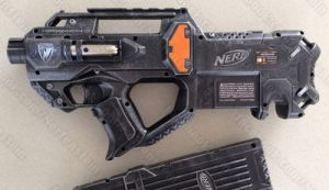 Nerf Rayven CS-18 for Urban Taggers .com by GirlyGamerAU