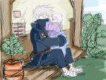 kakashi and Daughter time by KickBass77