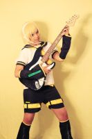 Len Kagamine Cosplay: Rock On!! by Awesome-Vivi