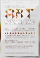 International Art Expo Flyer and CD Template by Godserv