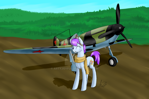 Amelia 'Aviator' by ArtyJoyful