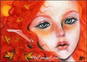 Harvest Moon ACEO by Katerina-Art