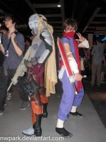 Pax 2013 Hunter and Stryder by nwpark