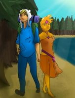 Adventure Time-Flamin Teens by Mister-23