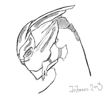 Turian Sketch (IV) by Rostov-na-don