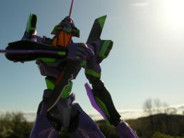 A Nice day for Eva Unit-01 by JLCL01