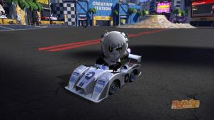 ModNation GLaDOS and Kart by DemonBa55Player