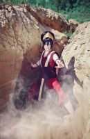 Toph Beifong - Ever seen an Earthbender in action? by Melonl0rd