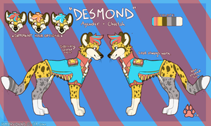 Desmond (Current Ref) by umbreonns