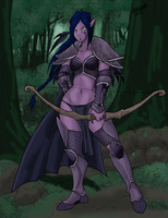 Night Elf by Shabazik