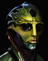 Thane Krios by Wild-Theory