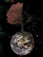 Withering planet by Cahotic