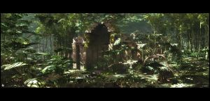 Jungle ruins by barrymdesigns