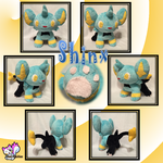Minky Shinx :Commission: by Ami-Plushies