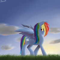 My Name is Rainbow Dash by EmilieArts