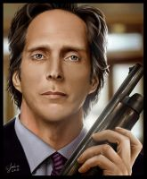 TheDarkKnight William Fichtner by Sheridan-J