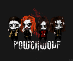 Powerwolf chibi by Ann-Rentgen