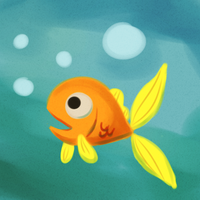 a fish by cartoonboyplz