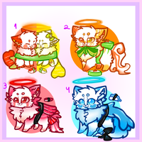 Candycats: sushi candy CLOSED by XWaffleheartX