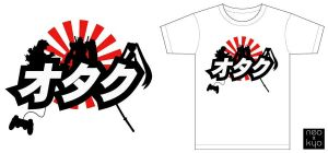 OTAKU T-shirt by NeoKyoStudio