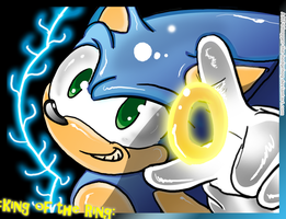Sonic And The Ring:. by SpyxedDemon